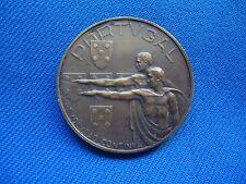PORTUGAL PORTUGUESE 1936 ANO X SALAZAR MOCIDADE FACIST MEDAL 35mm