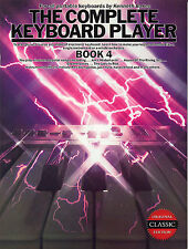 The Complete Keyboard Player Learn to Play Pop Rock Hits Piano Music Book 4