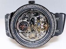 Brand New Joe Rodeo/Jojo/Jojino Black Metal Automatic Swiss Diamond Watch Jjm 82