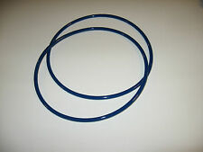 "2 BLUE MAX 1/4"" ROUND DRIVE BELTS FOR AMERICAN BS-360 BAND SAW MADE IN USA"