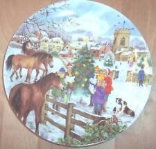 Bradford Exchange Wedgwood The Carol Singers Plate