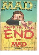 MAD MAGAZINE #46 (APRIL 1959)  VERY FINE
