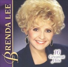 FREE US SHIP. on ANY 3+ CDs! ~Used,Good CD Brenda Lee: 16 Greatest Hits