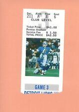 Tampa Bay Buccaneers  Detroit Lions 1996 ticket Jason Hanson photo Barry Sanders