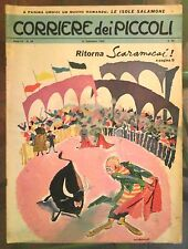 Corriere dei Piccoli N. 38 1963 pratt dino battaglia poldino spaccaferro simbad