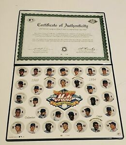 World Champion 1969 Miracle Mets 25th Anniversary Commemorative Cap Sheet