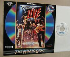 TRIUMPH A Night Of Triumph Live... 76 min Laserdisc w/ DVDr 1987 concert