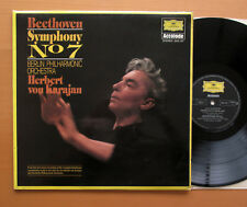 DG 2542 107 Beethoven Symphony no. 7 Karajan Berlin Philharmonic EXCELLENT LP
