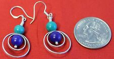 D20 Gorgeous 0.925 Tibetan Sterling Silver Earring Hand crafted in Nepal