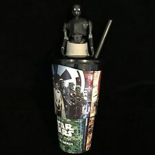 Star Wars Rogue One K-2SO Cinema Drink Cup & Topper Toy Sale