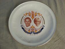 Princess Diana Price Charles Wedding Plate Vintage Collectors