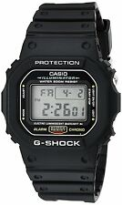 Casio DW5600E-1V G-SHOCK Mens Black Classic Digital Shock Resistant Sports Watch