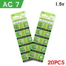 20X AG7 395A SR927W SR57  Watch Battery Coin Button Cells Batteries Alkaline NEW