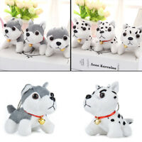 Cute 11.5 x 9.5cm Husky Plush Toys For Children Christmas Gift