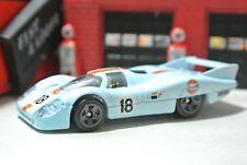 Hot Wheels Loose - Porsche 917-LH - Light Blue - 1:64 - Gulf - Project Cars 2