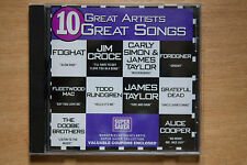 10 Great Artists - Grateful Dead, Alice Cooper, Fleetwood Mac, Foghat (BOX C74)