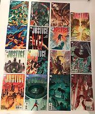 Lot of 15 DC Justice (2005) #1-12 Complete Set + Variants Alex Ross Art /Krueger