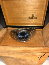 Rolex Air King 34MM Oyster Stainless Steel Blue with Dial Watch with Box/Papers