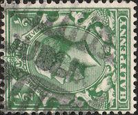 "GB / Ireland - KGV - 1912-24 "" DUBLIN "" Parcel CDS on SG351 1/2d green"