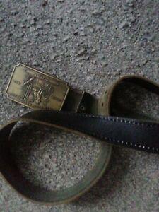 Men's Black Wells Fargo And Company Belt