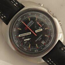 Roamer Pasadena Chronograph Date mens wristwatch steel case 43 mm. in diameter
