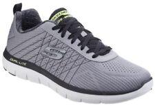 Baskets flex gris Skechers pour homme