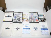 Xenosaga 1 2 3 set lot of 3 PS2 Playstation2 Japan Namco NTSC-J Free Shipping