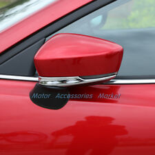 New Chrome Rearview Mirror Trim for Mazda 3 M3 Axela 2017 2018
