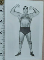PRIMO CARNERA STUNNING HAND SIGNED  PHOTO CARD & COA - OFFERS ACCEPTED