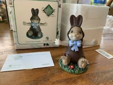 "Charming Tails ""You'Re A Real Sweetie"" Dean Griff Nib Easter Chocolate Bunny"