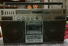 SHARP GF 9797H BOOMBOX GHETTOBLA BOOMBOX 80's (to read)