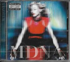 CD 12 TITRES MADONNA MDNA 2012 EUROPE NEUF SCELLE