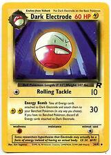 Dark Electrode #34 Pokemon Team Rocket TCG Trade Card (C370)