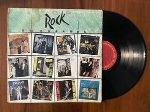 VARIOS - POP ROCK EN ESPAÑOL [LP VINYL] Columbia Mexico 1988 Hombres G Cadillacs