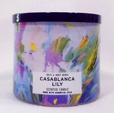 1 Bath & Body Works Casablanca Lily Large 3-Wick Scented Candle