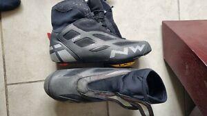 Northwave Fahrenheit 2 GTX winter Goretex road cycling boots EU46 speedplay