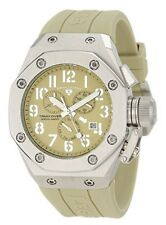 Swiss Legend 10541-019 Trimix Diver Chronograph Watch Olive Green New in Box!