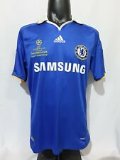 Chelsea Manchester United Champion League final 2008 Moscow jersey shirt home