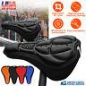 Cycling Bike Saddle Cushion Pad Sponge Seat Cover Bicycle Soft Thick Black USA