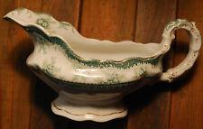 Rare Antique 1880's GRAVY BOAT Porcelain HAMILTON PATTERN John Maddock England
