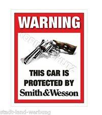 Smith&Wesson Aufkleber Sticker Auto US Cars Tuning Rocker Biker Racing Motorrad