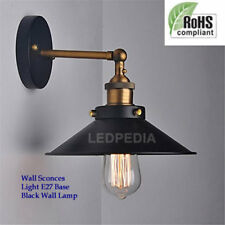 Best Industrial E27 Vintage Wall Light Edison Sconce Wall Lamp Holder Black UK