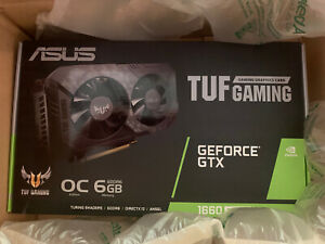 💻ASUS NVIDIA GeForce GTX 1660 Super TUF OC - New Sealed - Free 2Day Shipping!💻