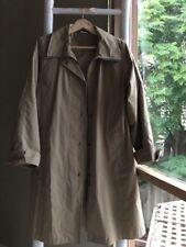 Marks & Spencer M&S Beige Inspector Trench Coat Jacket Sz S EUC