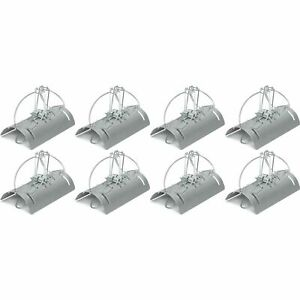 8 x Racan Tunnel Mole Trap Fast Action Humane Kill Double Entry Professional Use