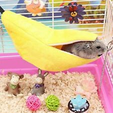 Hamster Banana Shaped Hammock Small Pet Cage Toys Gerbil Rat Mouse Hanging Nest