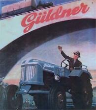 Älteres Blechschild Oldtimer Traktor Güldner Diesel gebraucht used  Nur 1x da