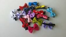 20 bow Hair Clips ballet school Kids Party Bags Toys
