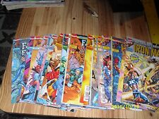 Lot comics Le retour des héros Fantastic four + lot Iron-man
