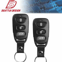 2 for Hyundai Sonata Elantra 2007 2008 2009 2010 keyless Entry remote key fob